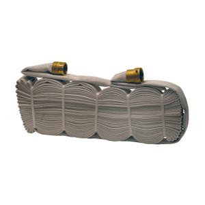 Dixon 1 1/2 in. 500# All Polyester Rack Hose w/ Brass NH (NST) Rocker Lug Couplings