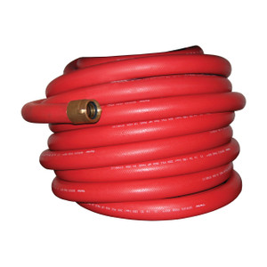 Dixon 1 1/2 in. Non-Collapsible Fire & Utility Hose w/ Aluminum Rocker Lug NPSH Threaded Couplings