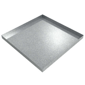 Killarney Metals 36 in. x 36 in. Square Galvanized Drip Pan