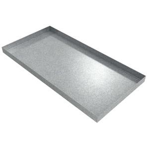 Killarney Metals 48 in. x 24 in.  Rectangular Galvanized Drip Pan