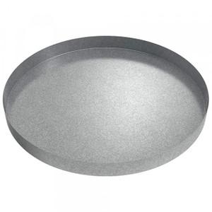 Killarney Metals 24 in. Round Galvanized Drip Pan