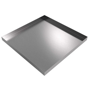Killarney Metals 36 in. x 36 in. Square Stainless Steel Drip Pan