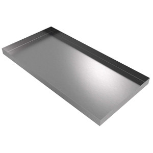 Killarney Metals 48 in. x 24 in. Rectangular Stainless Steel Drip Pan