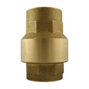 Titan Flow Control CV 20-BR Threaded Brass Check Valve w/ Buna-N Seat