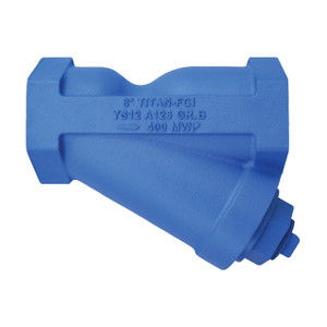 Titan Flow Control YS 12-CI Threaded Cast Iron Y-Strainer - ANSI Class 250