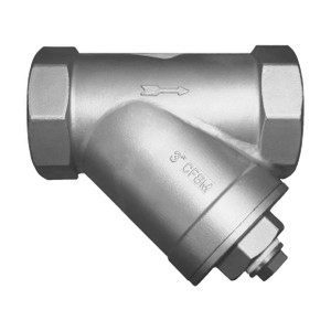 Titan Flow Control YS 80S-SS Socket Weld Stainless Steel Y-Strainer
