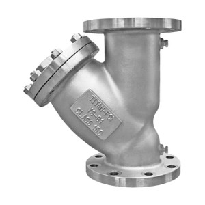Titan Flow Control YS 61-SS Stainless Steel Flanged Y-Strainer - ANSI Class 150