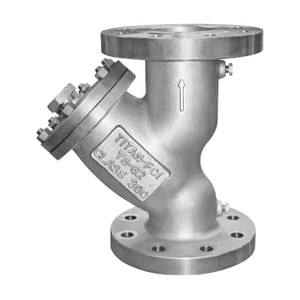Titan Flow Control YS 62-SS Flanged Stainless Steel Y-Strainer - ANSI Class 300