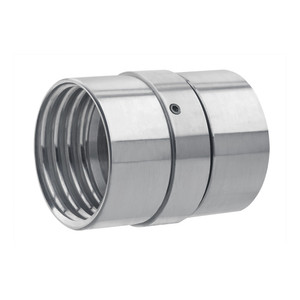 Kuriyama 4 in. Aluminum Full-Flow Swivel Coupling Set - NPSM Thread