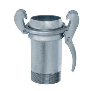 Kuriyama Sphere Lock™ Male Socket x Male NPT Coupling w/ Locking Lever Ring - Type B