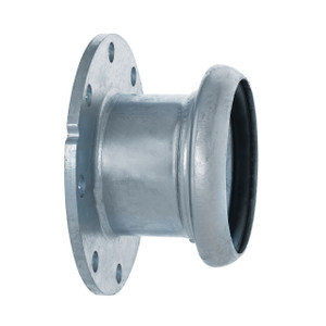 Kuriyama Sphere Lock™ Female Socket x 150# ASA Flange Coupling w/ Buna Gasket - Type B