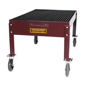 WEN Industries 36 in. x 60 in. Heavy Duty Mobile Drain Table