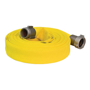 ATI 1 1/2 in. NST Forest Lite Single Jacket Wildland Fire Hose w/ Aluminum Rocker Lug Coupling - Type 2