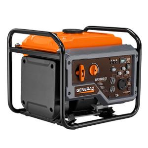 Generac 7128 GP3500iO Open Frame Inverter Generator, 3000 Watts, 120V, Gasoline, Recoil Start