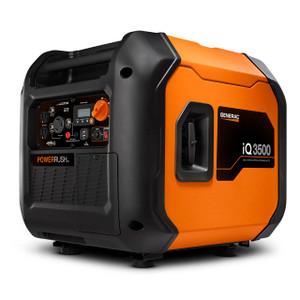 Generac 7127 iQ3500 Inverter Generator, 3000 Watts, 120V, Gasoline, Electric Start