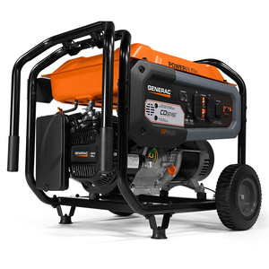 Generac 7683 GP6500 Portable Generator w/COSense™, 50 States/ CSA, 6500 Watts, 120/240V, Gasoline, Recoil Start