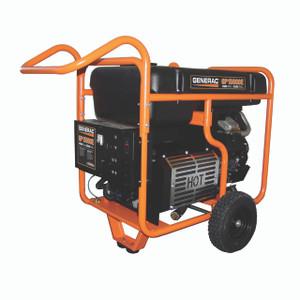 Generac 5734 GP15000E Portable Generator, 49 States/CSA, 15000 Watts, 120/240V, Gasoline, Electric Start