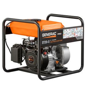 Generac ST20-S 2 in. Semi-Trash Water Pump, 158 GPM