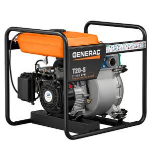 Generac T20-S 2 in. Trash Water Pump, 185 GPM