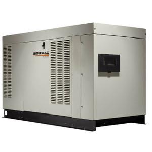 Generac RG03015ANAX Liquid-Cooled Home Standby Generator, 30 kW (LP)/27 kW (NG), 12/240V, Single Phase