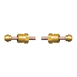 Fairview Fittings 1/4 in. Copper Short POL x Short POL Propane Gas Pigtail