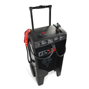 Schumacher DSR DSR122 Proseries Wheeled Charger/Engine Start w/Flash Programming, 6/12V, 275 Amps