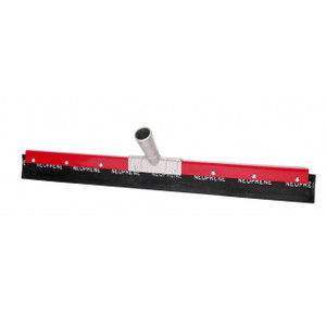 Haviland 2300N Series 48 in. Petroleum Resistant Straight Frame Floor Squeegee, Red