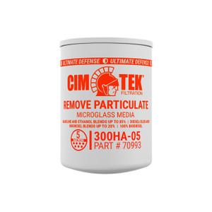 Cim-Tek 300 Series High Alcohol Content Microglass Filter, 70993, 5 Micron