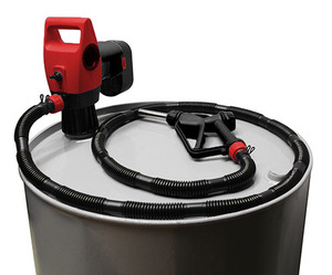 National Spencer 19.2V Rechargeable Battery Operated Drum Pump w/ Can & Pail Pump