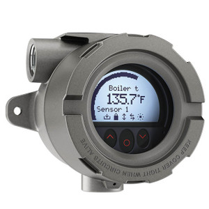 Reotemp REWHY Series Resistance Temperature Detector Assembly w/Explosion Proof Smart Transmitter Head, 1/4 in. Dia.