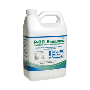 Dixon P-80 Emulsion Temporary Assembly Lubricant - 4 Liter