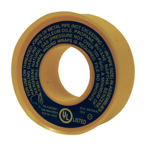 Dixon Yellow Teflon Tape for LP Gas - 1/2 in. x 260 in. Roll