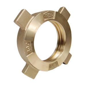 Dixon 3 in. FNPT Brass LNG Coupling w/ Hose End Swivel Nut