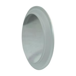 Dixon Sanitary B5416MP Series Acrylic Plastic Sight Glass End Cap