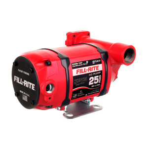 Fill-Rite NX25-120 Series 120V AC Transfer Pump - Foot Mount Configuration - Pump Only - 25 GPM