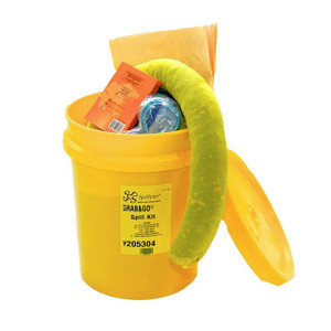 NPS Corp 205304 Grab & Go Hazmat Bucket Spill Kit