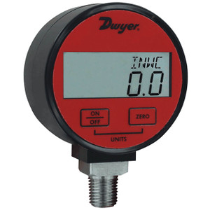Dwyer Series DPGA Digital Pressure Gauge w/1% Accuracy For Air & Compatible Gases