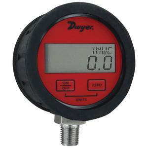 Dwyer Series DPGAB Digital Pressure Gauge w/0.5% Accuracy for Air & Compatible Gases