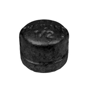 Service Metal Series SBCP Class 150 Black Malleable Iron 2 in. Caps
