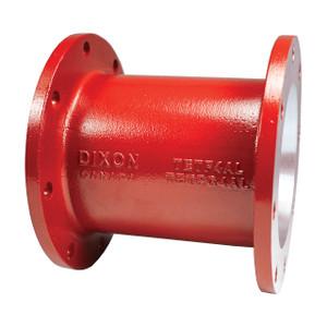 Dixon 4 in. Aluminum TTMA Flange Extension - Red