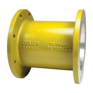 Dixon 4 in. Aluminum TTMA Flange Extension - Yellow