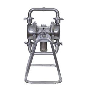 Graco Saniforce 2.0 HS Series 1 1/2 in. 1590 Pneumatic Diaphragm Pump w/ Overmold PTFE Dia., PTFE Ball & SS Seat