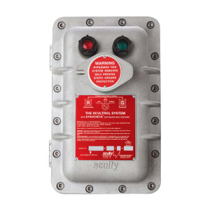 Scully 09125 Green Lens & Guard Assembly for ST-15 115V AC Single Point Thermister Controller