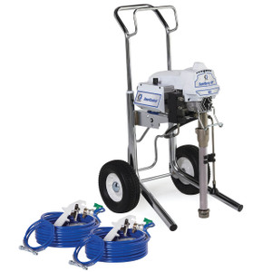 Graco SaniSpray HP 130 Electric 2-Gun Cart Airless Disinfectant Sprayer, 1 GPM