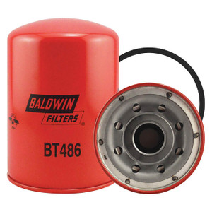 Baldwin Filters BT486 Spin-On Oil Filter, Full-Flow, 1 1/2 in. Thread, 12 Micron, Each