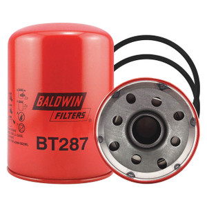 Baldwin Filters BT287 Spin-On Oil Filter, Full-Flow, 1 1/2 in. Thread, 23 Micron, Each