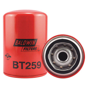 Baldwin Filters BT259 Spin-On Oil/Hydraulic Filter, Full-Flow, 13/16 in. Thread, 12 Micron, Case of 12