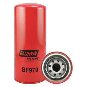 Baldwin Filters BF979 Primary Spin-On Fuel Filter, 1 in. Thread, 25 Micron, Each