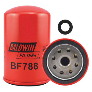Baldwin Filters BF788 Secondary Spin-On Fuel Filter, 3 1/32 in. W x 4 27/32 in. H, 15 Micron, Each