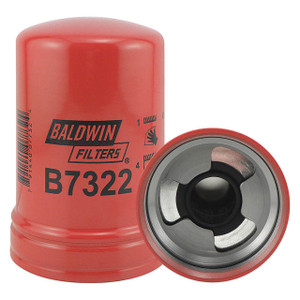 Baldwin Filters Spin-On Oil Filter, M92 x 2.5mm Thread, 3 29/32 in. Outside Dia., 5 5/16 in. H, Case of 12